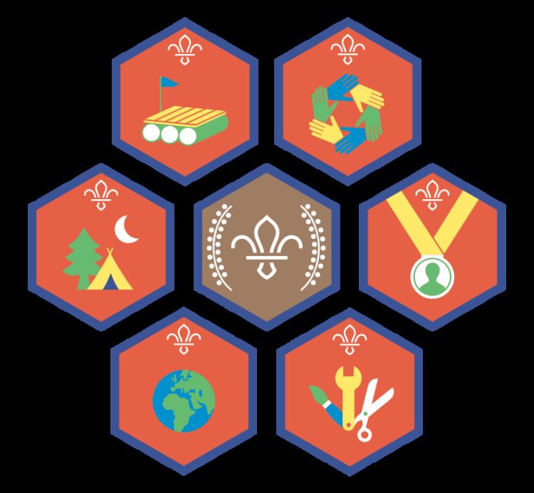 The Beaver challenge badges