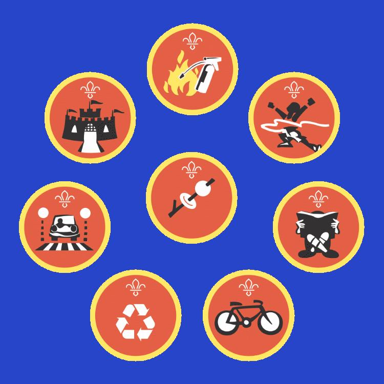 Cubs Activity Badges