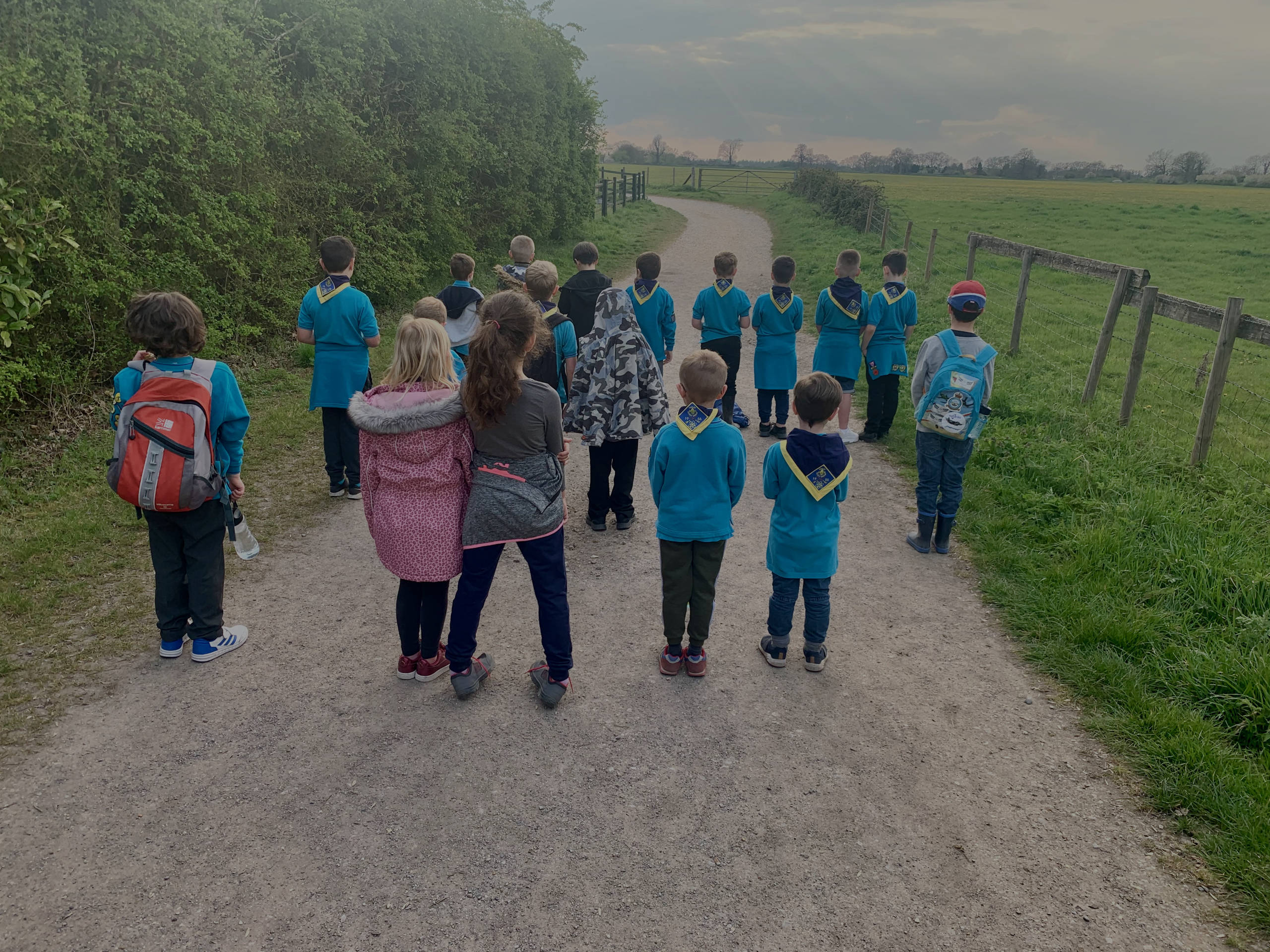 Tadley Beavers out on a walk